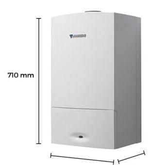Dimensiones Caldera a Gas de Condensación Junkers Cerapur Comfort ZWBE 25/25-3 C