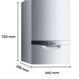 Dimensiones Caldera a Gas de Condensación Vaillant ecoTEC Plus VMW ES 306 5/5