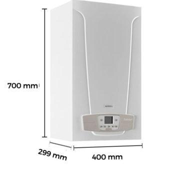 Dimensiones Caldera a Gas de Condensación Baxi Platinum Compact ECO 24/24 F