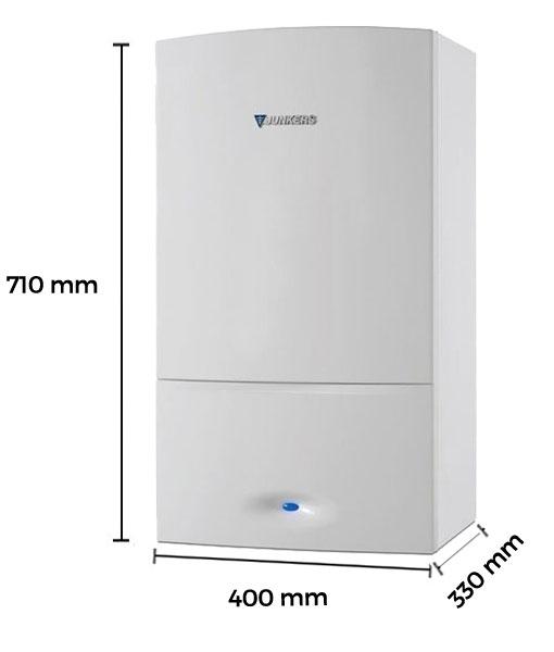 Dimensiones caldera a gas de condensaci n junkers cerapur - Caldera condensacion junkers ...