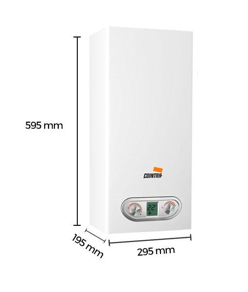 Calentador de agua a gas cointra 11 litros butano supreme - Calentadores a gas ...
