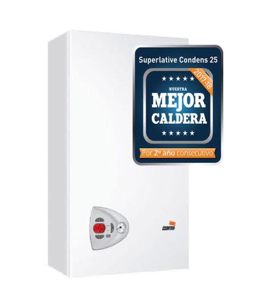 Mejor Caldera a Gas de Condensación en España 2017-2018 Cointra Superlative Condens 25 C