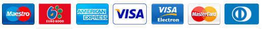 Tarjetas de Crédito/Débito aceptadas