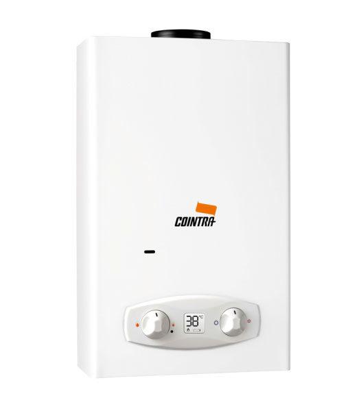 Calentador de Agua a Gas 11 Litros Tiro Natural Atmosférico Cointra ÓPTIMA COB-11D