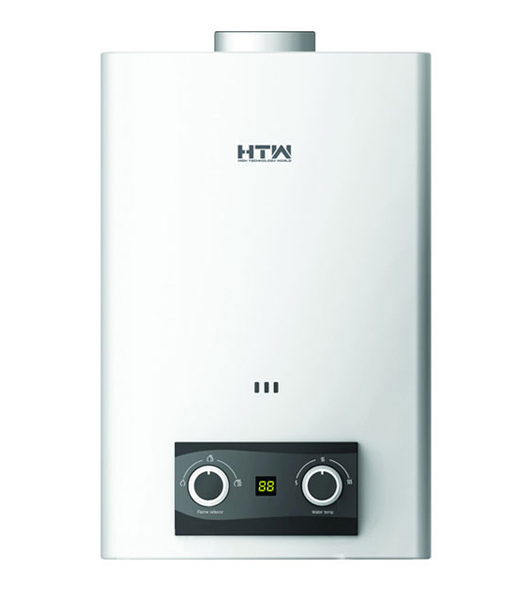 Calentador de Agua a Gas 6 Litros Tiro Natural Atmosférico HTW CLA 6EASY