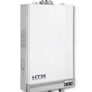 Vista lateral Calentador de Agua a Gas 12 Litros Estanco Markes by HTW ELITE CL12IFGN-K