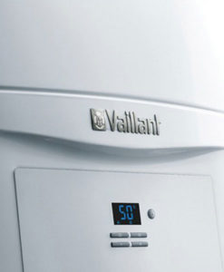 Vista detalle panel frontal Caldera a Gas de Condensación Vaillant ecoTEC PURE VMW 286/7-2