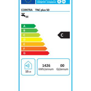 Etiqueta Energética TNC Plus 50 Cointra
