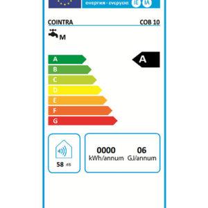 Etiqueta Energética Calentador Cointra COB 10