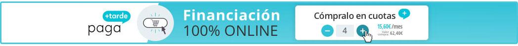 Financia tus compras en Termogar con Paga+Tarde. Sin papeleos, 100% online!!