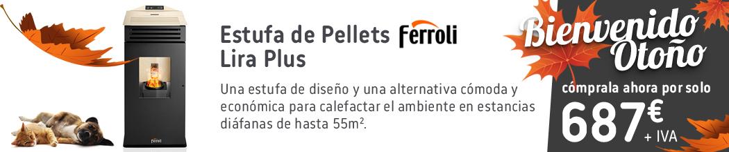 Estufa de Pellets Ferroli Lira Plus